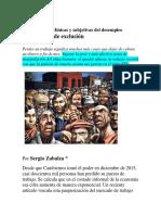 Consecuencias Clínicas y Subjetivas Del Desempleo_Sergio Zabalza