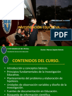 Líneas de Investigación de La Facultad de Ciencias