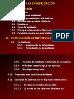 CAP Hipotesis