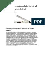 Instrumentos de Medición Industrial