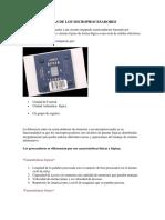 Caracteristicas de Los Microprocesadores Esposicion