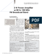 A 300 W Power Amplifier for the 88 to 108 MHz FM Broadcast Band .pdf