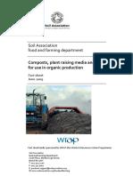 Organic Composts, Plant Raising Media and Mulches