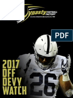 2017 DFF Devy Watch