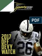 2017 DFF Devy Watch