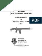 XCR Manual Web