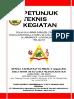 Berkas Juknis Porseni Ix Hari Pemuda Tahun 2016 Di Gke Agape