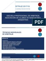 Manual de Arbitraje 2017-2018