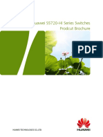 Huawei S5720-HI Series Switches Product Brochure