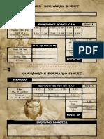 Conan Campaign Scenario Sheets US