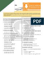01 Productos Notables – Algebra Cuarto de Secundaria