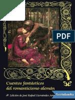 Cuentos Fantasticos Del Romanticismo Aleman - AA VV