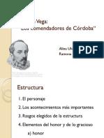 Lope de Vega Los Comendadores de Córdoba