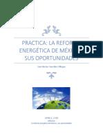 Practica La Reforma Energetica de Mexico y Sus Oportunidades