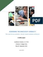 Assessing Technology Literacy