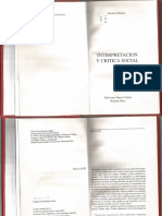 Interpretacion y Critica Social Michael Walzer (1) (2)