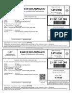NIT-96113839-PER-2018-01-COD-2046-NRO-21261147080-BOLETA