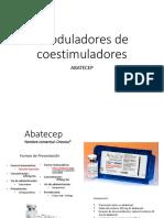 Moduladores de Coestimuladores