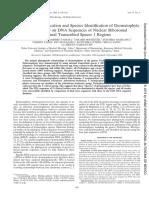 1999-filogenia dermatofitos