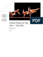 Brief Hx of Tap and Jazz Dance in US