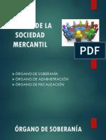 Sujetos de La Sociedad Mercantil