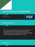 Ley de Violencia Intrafamiliar CAP5
