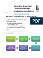 Práctica 2  análisis instrumental| FIQ BUAP