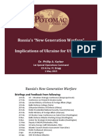 Russias New Gen War & Nato Potomac