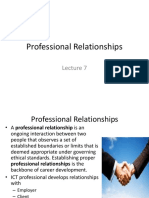 Chapter 6 Professional Relationships