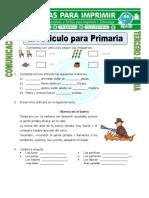 El Articulo Para Primaria Para Tercero de Primaria (1)