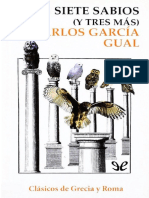 Garcia Gual Carlos - Los Siete Sabios (Y Tres Mas)