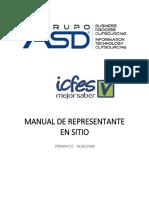 Manual Representante en Sitio