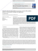 Activated Carbon From Lignocellulosics Precursors a Review of the Synthesis Methods Characterization Techniques and Applications