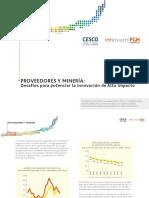 Proveedores de La Mineria Desafios Para Potenciar La Innovacion de Alto Impacto