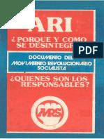 ARI - Por Qué Se Rompió
