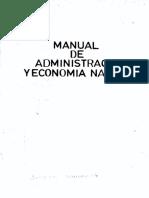 Manual de Administracion y Economia Naviera