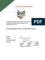 Procedimientos de Construcicion 2