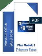 Plan Modulo I Primeros Pasos