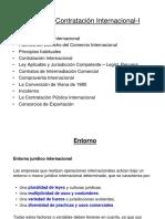 COMERCIO INTERNACIONAL  - Contratación Internacional I