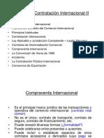 COMERCIO INTERNACIONAL  - Contratación Internacional I I