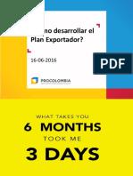 Plan Exportador