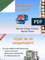 El computador y sus parte primaria