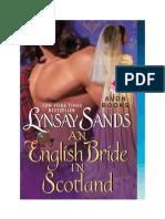 Lynsay Sands - Serie Highlanders Escoceses 01 - Una Novia Inglesa en Escocia