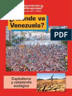¿A dónde va Venezuela?