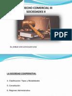 Derecho Comercial III (Sociedades II) - Cooperativas 2