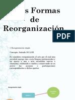 DERECHO COMERCIAL III (SOCIEDADES II) - OTRAS FORMAS DE REORGANIZACIÓN