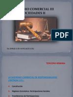 Derecho Comercial III (Sociedades II) - Derecho Comercial III (Sociedades II) - 3 Semana(1)
