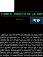 Formal Proofs of Validity Di-And-Ni by COPI AND COHEN