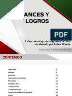 Avances y Logros Gobierno Coahuila RMV