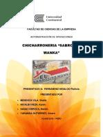 Chicharroneria Sabrosito Wanka Final